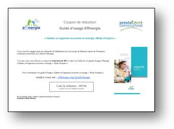 coupon reduction factice